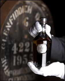 Bottle of Glenfiddich 50 Year Old [Pic: John Paul/Glenfiddach Distillery]