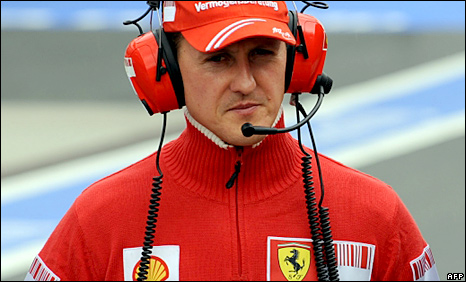 michael schumacher wife. Michael Schumacher will make a