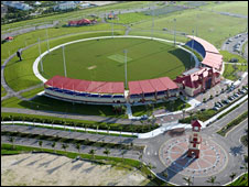 The cricket stadium in Florida
