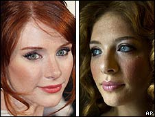 Bryce Dallas Howard and Rachelle Lefevre