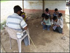 A village school in India: From 2006 BBC television series