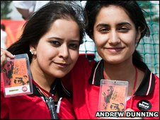 Saimah Laher and Subhana Chaudhry