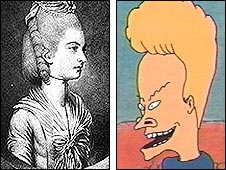 Beavis (left) and Lady Jersey