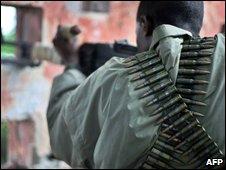 A Somali guerilla