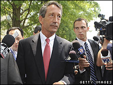 Mark Sanford, Republican governor of South Carolina