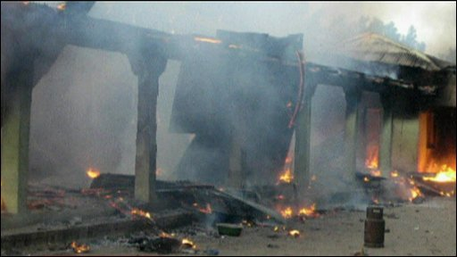 Nigerian sect's mosque shelled