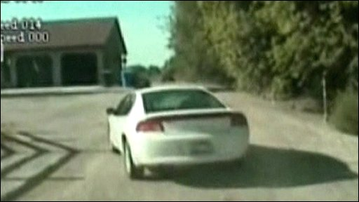 Car chased by police