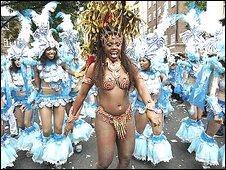 Notting Hill Carnival scene