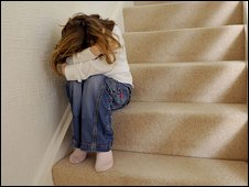 Child on stairs (file image)
