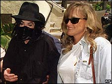 Michael Jackson with Deborah Rowe