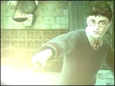 Gaming character Harry Potter