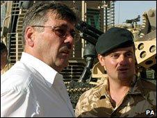 Bon Ainsworth in Afghanistan