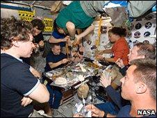 ISS crew members (Nasa)