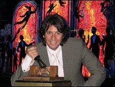 Laurence Llewelyn-Bowen at the Venus Reborn tableau
