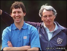 Bryan and Bobby Robson