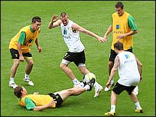 Norwich City training at Carrow Road