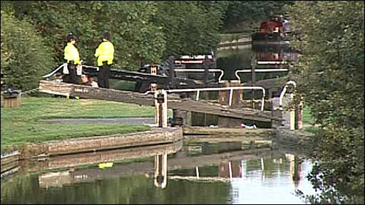 Accident happened on the Oxford Canal at Cropredy