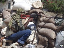 Militiaman in Mogadishu