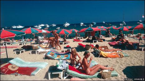 topless sunbathing in europe