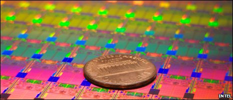 Intel 45nm chip (Intel)