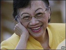 Former Philippine President Corazon Aquino (August 2008)
