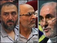 From left: Mohammed Ali Abtahi, Mohsen Mirdamadi, Behzad Nabavi