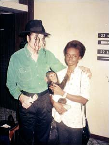 Michael Jackson during Ivory Coast visit in 1992