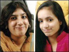 Nabiha Masud (l) and Maleha Masud