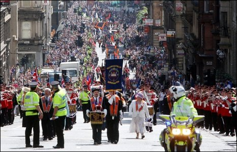 Policing an Orange Walk