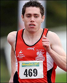 Double Paralympics gold medallist Jason Smyth