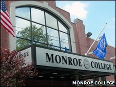 Monroe College (photo from school website)