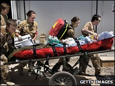 UK medics in Afghanistan