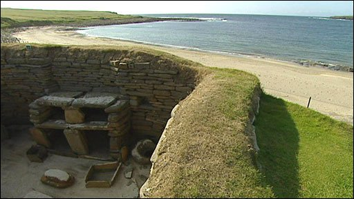 Skara Brae in Orkney