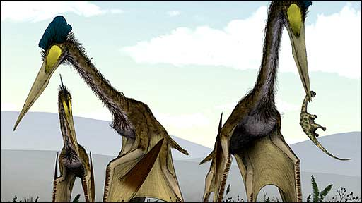 Pterosaur painting (Mark Witton)