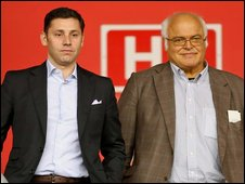Nicola Cortese and Markus Liebherr
