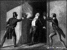 Assassination of prime minister Spencer Perceval