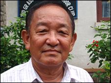 Gurkha ex-serviceman Krishna Rai