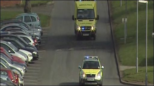 Ambulance on emergency calls