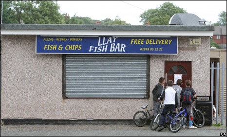 Llay Fish Bar in Wrexham