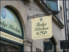 The Fudge Kitchen - Edinburgh
