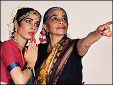 Indu Mitha (right) and her daughter Tehreema