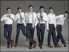 White-shirted men (pic: Charles Tyrwhitt)