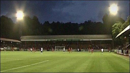 Pre season at Aldershot