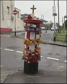 Pillar box shrine