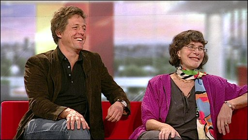Hugh Grant and Dr Ann McPherson
