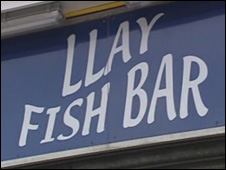 Llay Fish Bar, Llay, Wrexham