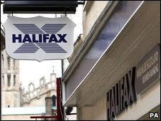 Halifax branch sign