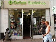 An Oxfam Bookshop