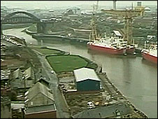 River Wear and ships