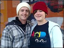 Taran Campbell and Rhiannon Lafferty